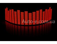 Эквалайзер красный 45*11см
