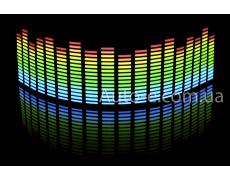 Эквалайзер 4х цветный: синий - зелёный - жёлтый - красный 70*16см