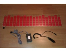 Эквалайзер красный 90*25 см