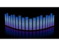 Эквалайзер 3х цветный 70*16см: фиолет.-белый-синий