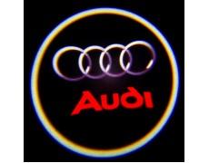 Подсветка дверей авто - Audi_2