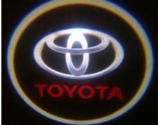 Подсветка дверей авто - Toyota (Black)