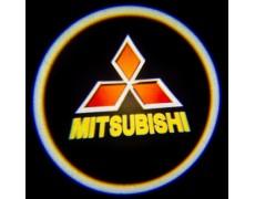 Подсветка дверей авто - Mitsubishi