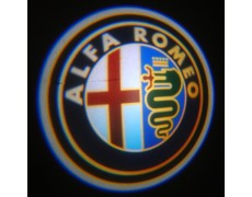 Подсветка дверей авто - Alfa-Romeo