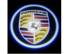 Подсветка дверей авто - Porshe