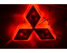 Подсветка лого авто - Mitsubishi