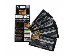 Brunox Gun Care, cалфетки для ухода за оружием, 5шт в коробке