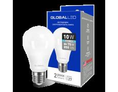 LED лампа GLOBAL A60 10W яркий свет 220V E27 AL (1-GBL-164) (NEW)