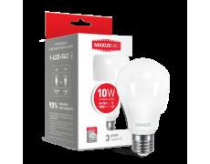 LED лампа A60 10W яркий свет 220V E27 (1-LED-562) (NEW)
