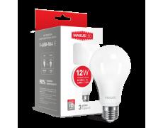 LED лампа A65 12W яркий свет 220V E27 1-LED-564) (NEW)