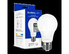 LED лампа GLOBAL A60 10W яркий свет 220V E27 AL (1-GBL-164-02)