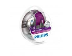 Галогенная лампа H1 Philips 12258VPS2 VisionPlus +60%
