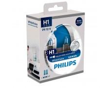 Галогенная лампа H1 Philips 12258WHVSM WhiteVision