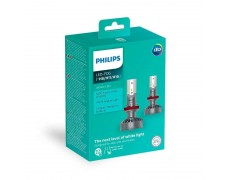Светодиодные противотуманные лампы Philips 11366ULWX2 Ultinon LED для цоколей H8, H11, H16