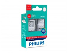 Светодиодные лампы W21W Philips 11065ULRX2 Ultinon LED (Red)