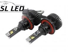 LED лампы в головной свет серии SX5 Цоколь H13, 25W, 3000 Люмен/Комплект