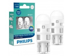 Светодиодные лампы Philips 11961ULWX2 Ultinon LED W5W T10 6000K