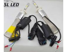 Комплект LED ламп в головной свет серии SL-R3 Цоколь H7, 40W, 4800 Люмен/Комплект