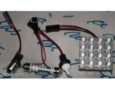 Светодиодный модуль в подсветку салона 16 Flux led Белый 24V