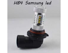 Автомобильная LED лампа SL LED в ПТФ Цоколь HB4 15-2323 samsung, 15W 6000К Белый