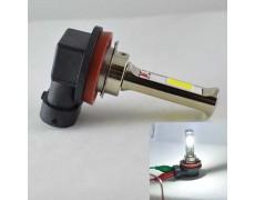 Автомобильная лампа в ПТФ, SLP LED под цоколь H11/H8/H9, светодиоды типа COB 18W 9-30 В. Белый