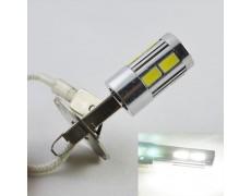 Светодиодная лампа в ПТФ Цоколь H3, 10-5630 9-14V Белый 6000К