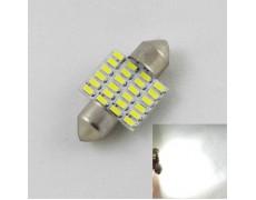 Led лампа SLS LED в салон, багажник и подсветку номера Цоколь SV8,5(C10W) 31mm 24-3014 Белый
