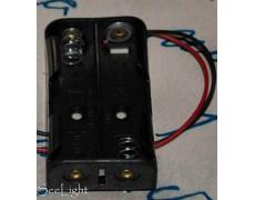 Кассета для 2 батареек типа АА