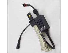 Комплект led ламп в ПТФ SLP LED G5 под цоколь H3 20W Philips led 9-30 В. Белый