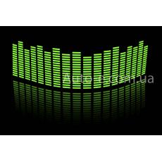 Эквалайзер зелёный 45*11см