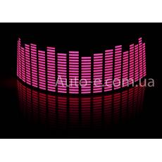 Эквалайзер розовый 45*11см