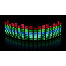 Эквалайзер 5ти цветный 70*16см: Б- Св.З -С-З-К
