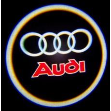 Подсветка дверей авто - Audi