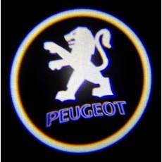 Подсветка дверей авто - Peugeot