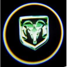 Подсветка дверей авто - Dodge