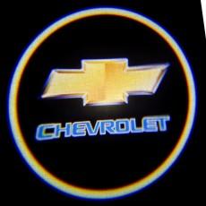 Подсветка дверей авто - Chevrolet