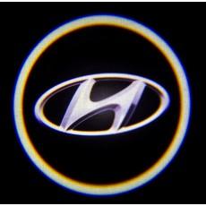 Подсветка дверей авто - Hyundai