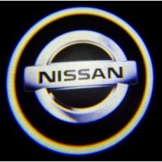 Подсветка дверей авто - Nissan (Белый)