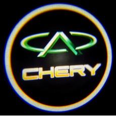 Подсветка дверей авто - Chery