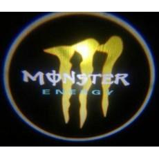 Подсветка дверей авто - Monster