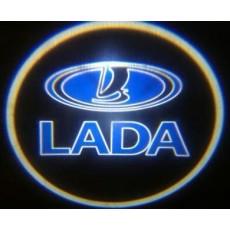 Подсветка дверей авто - Lada
