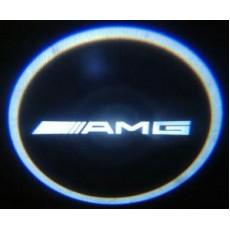 Подсветка дверей авто - AMG