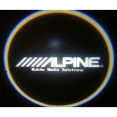 Подсветка дверей авто - Alpine