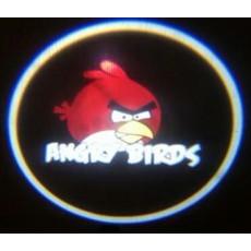 Подсветка дверей авто - Angry Birds