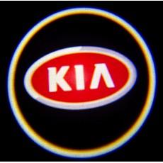 Подсветка дверей авто - KIA