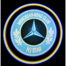 Подсветка дверей авто - Mercedes-Benz Сlub