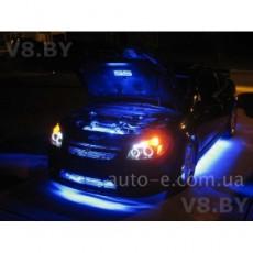 Подсветка днища авто 4 ленты: 2*90см и 2*120см