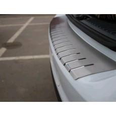 Накладка на бампер с загибом для Mercedes A Class W169 3D / 5D F