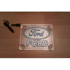 Неоновый лого авто - Ford