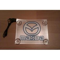 Неоновый лого авто - Mazda